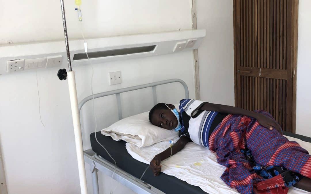 Schmerztherapie für den 12-jährigen Haji Hassan