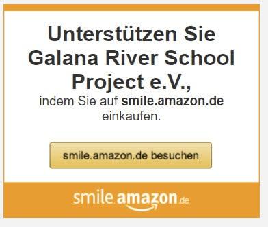 0,5% aller Amazon-Einkäufe gehen ins Projekt !